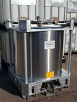 1000 Litre New Stainless Steel IBC
